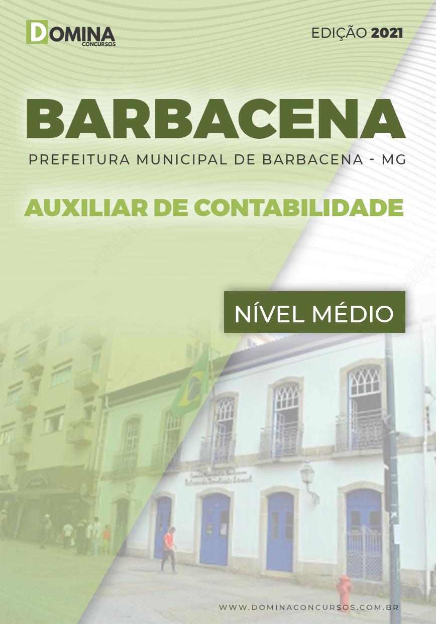 Apostila Câmara Barbacena MG 2021 Auxiliar de Contabilidade