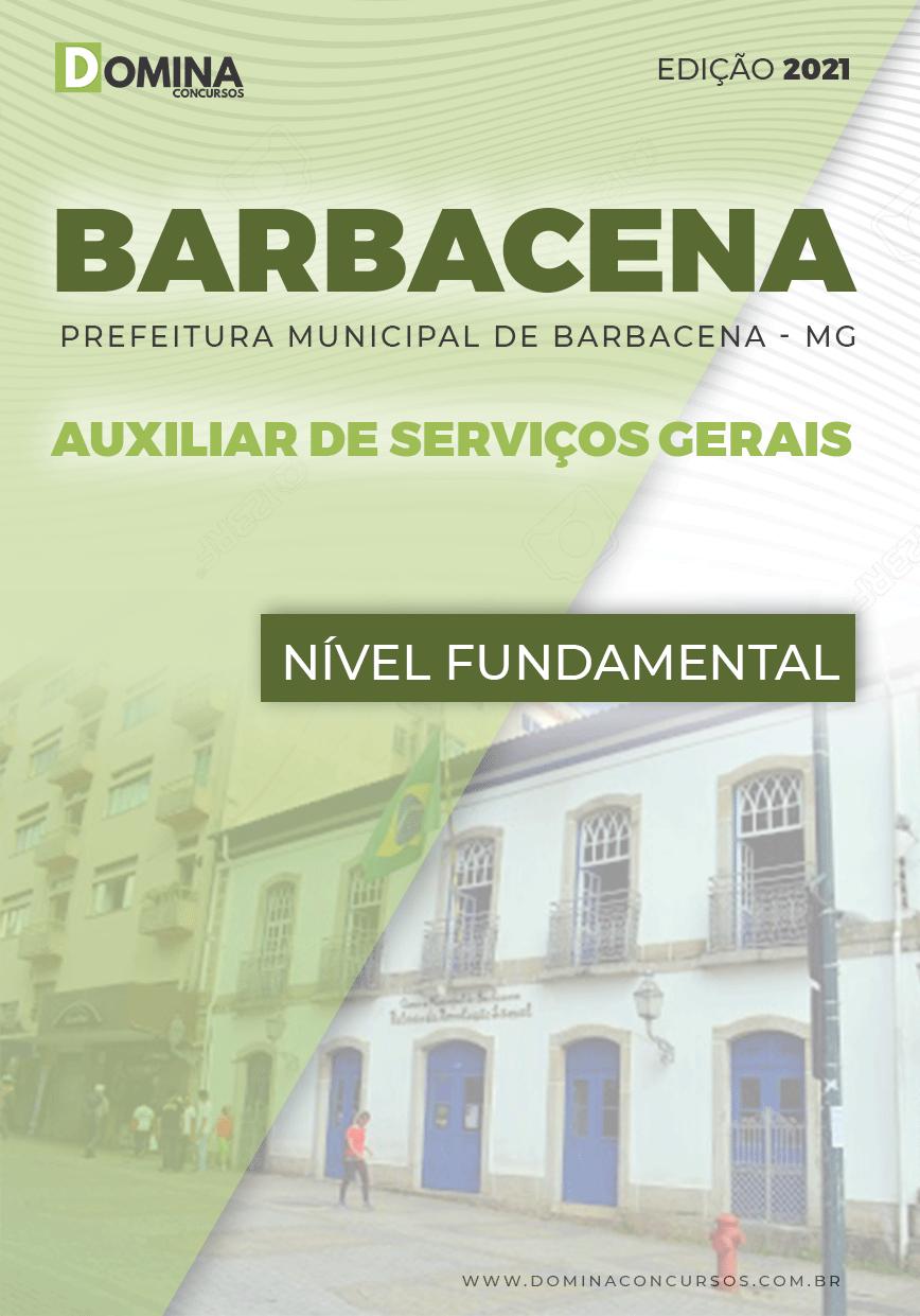 Apostila Câmara Barbacena MG 2021 Auxiliar de Serviços Gerais