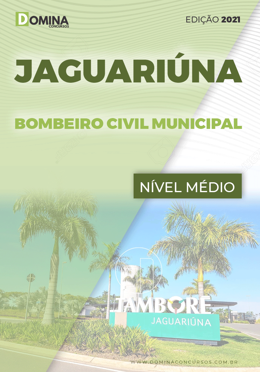 Apostila Pref Jaguariúna SP 2021 Bombeiro Civil Municipal