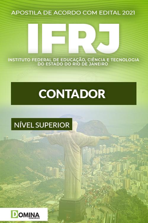 Apostila Concurso Público IFRJ 2021 Contador Download