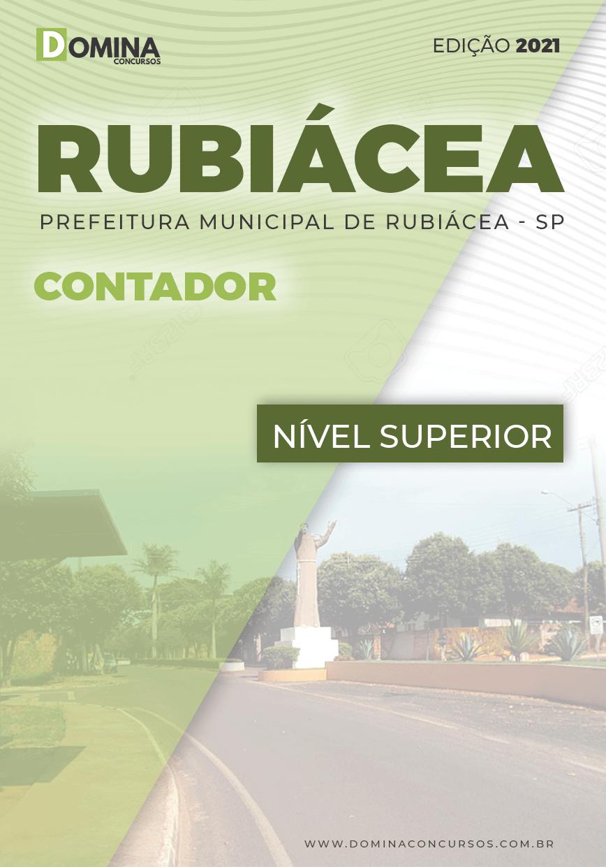 Apostila Concurso Público Pref Rubiácea SP 2021 Contador
