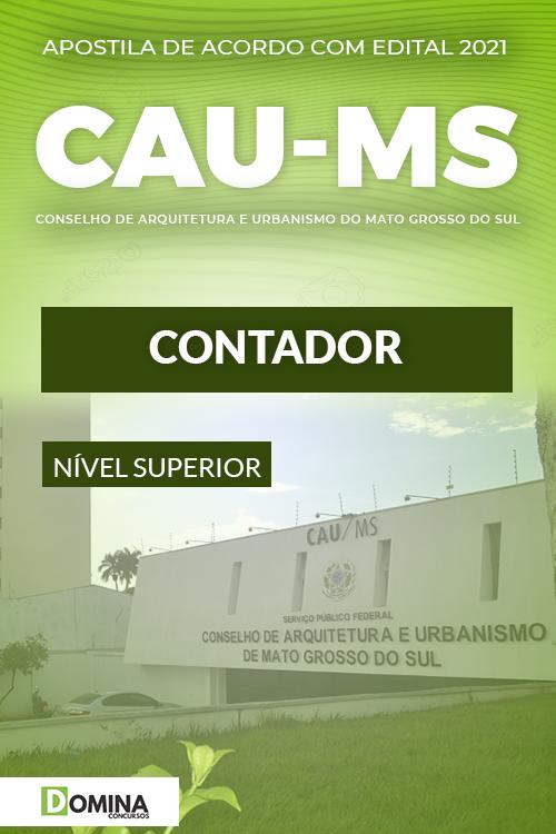Apostila Concurso Público CAU MS 2021 Contador