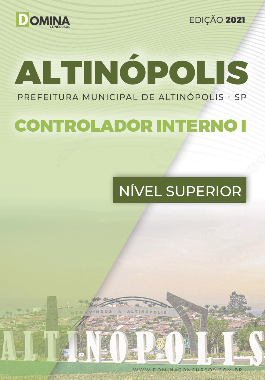 Apostila Concurso Pref Altinópolis SP 2021 Controlador Interno I