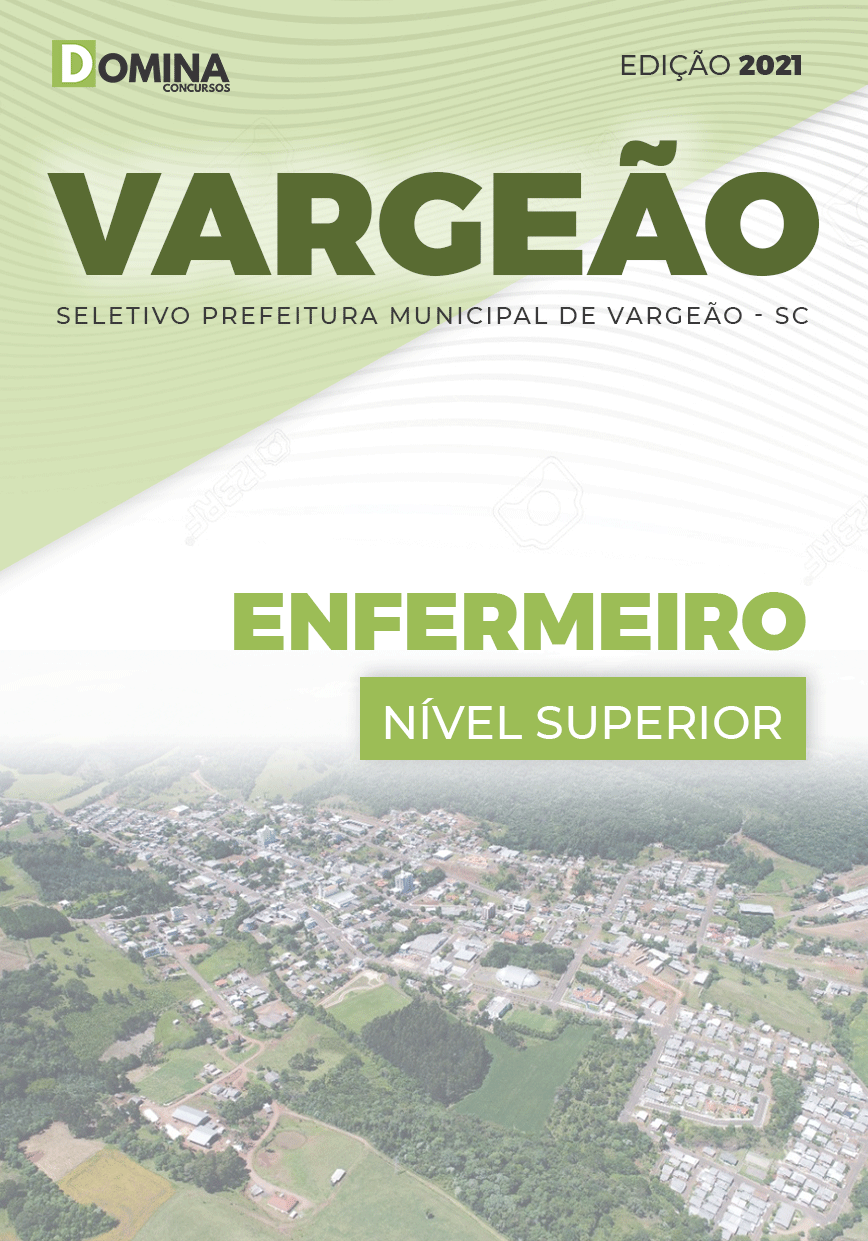 Apostila Processo Seletivo Pref Vargeão SC 2021 Enfermeiro
