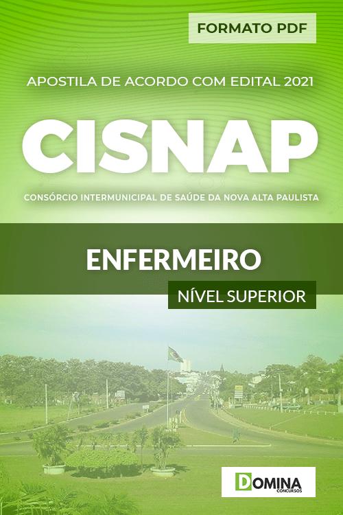 Apostila Processo Seletivo CISNAP SP 2021 Enfermeiro