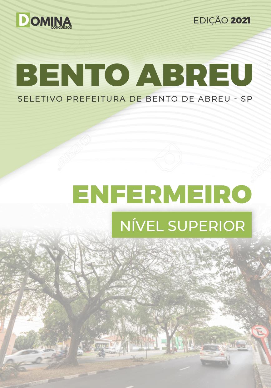 Apostila Seletivo Pref Bento de Abreu SP 2021 Enfermeiro
