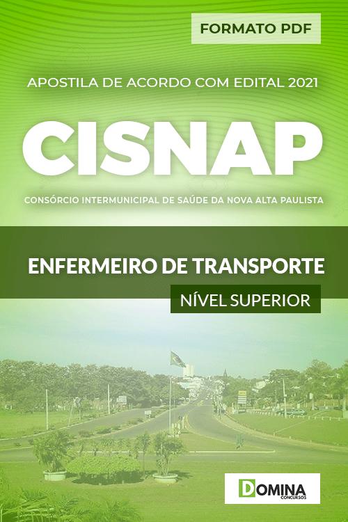 Apostila Seletivo CISNAP SP 2021 Enfermeiro de Transporte