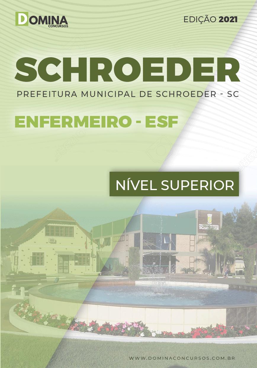 Apostila Concurso Pref Schroeder SC 2021 Enfermeiro ESF
