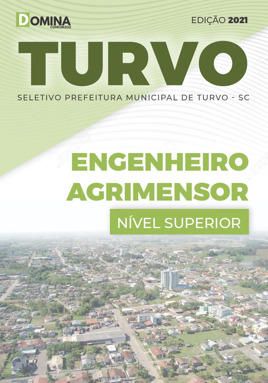 Apostila Seletivo Pref Turvo SC 2021 Engenheiro Agrimensor