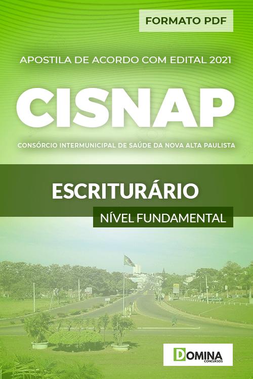 Apostila Processo Seletivo CISNAP SP 2021 Escriturário