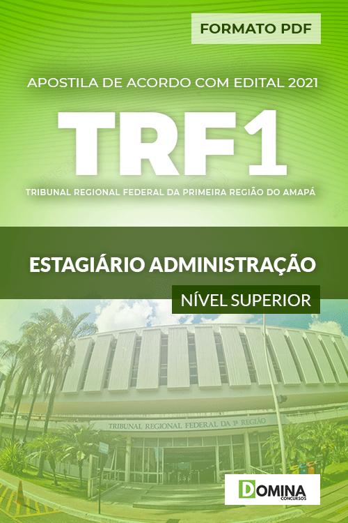 Apostila TRF 1 Região RJ 2021 Estagiário Administração