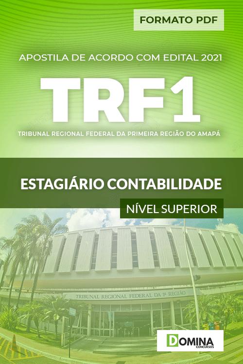 Apostila TRF 1 Região RJ 2021 Estagiário Contabilidade