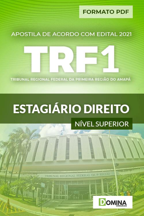 Download Apostila TRF 1 Região RJ 2021 Estagiário Direito