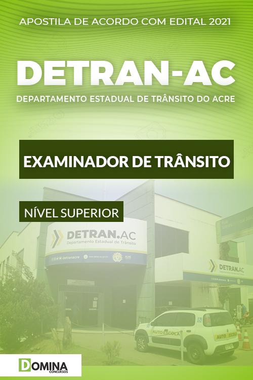 Apostila Concurso DETRAN AC 2021 Examinador de Trânsito