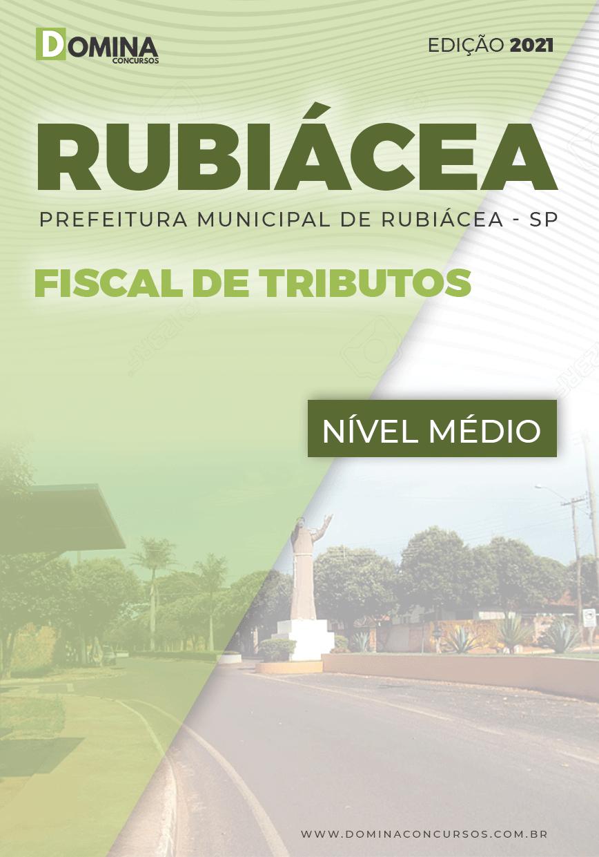 Apostila Concurso Pref Rubiácea SP 2021 Fiscal de Tributos