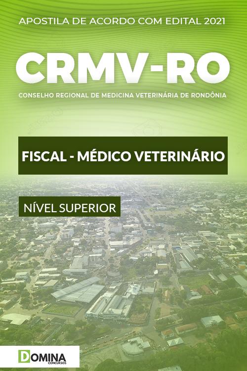 Apostila Concurso CRMV RO 2021 Fiscal Médico Veterinário