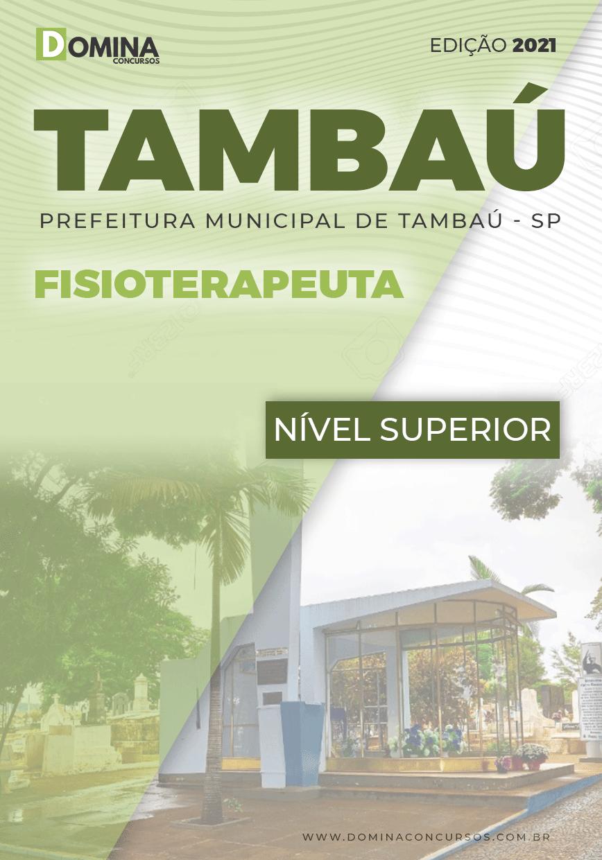 Apostila Concurso Pref Tambaú SP 2021 Fisioterapeuta