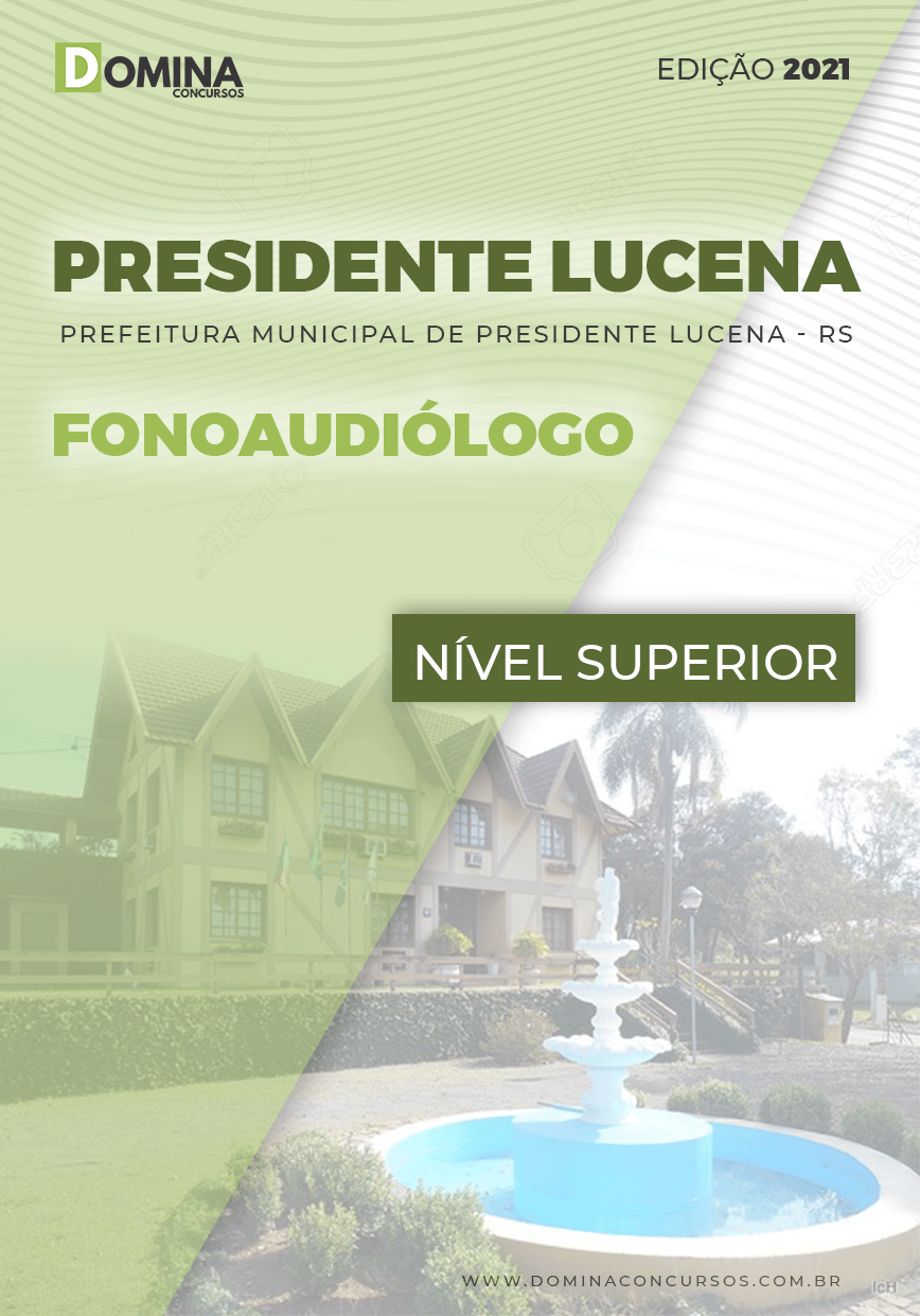 Apostila Pref Presidente Lucena RS 2021 Fonoaudiólogo