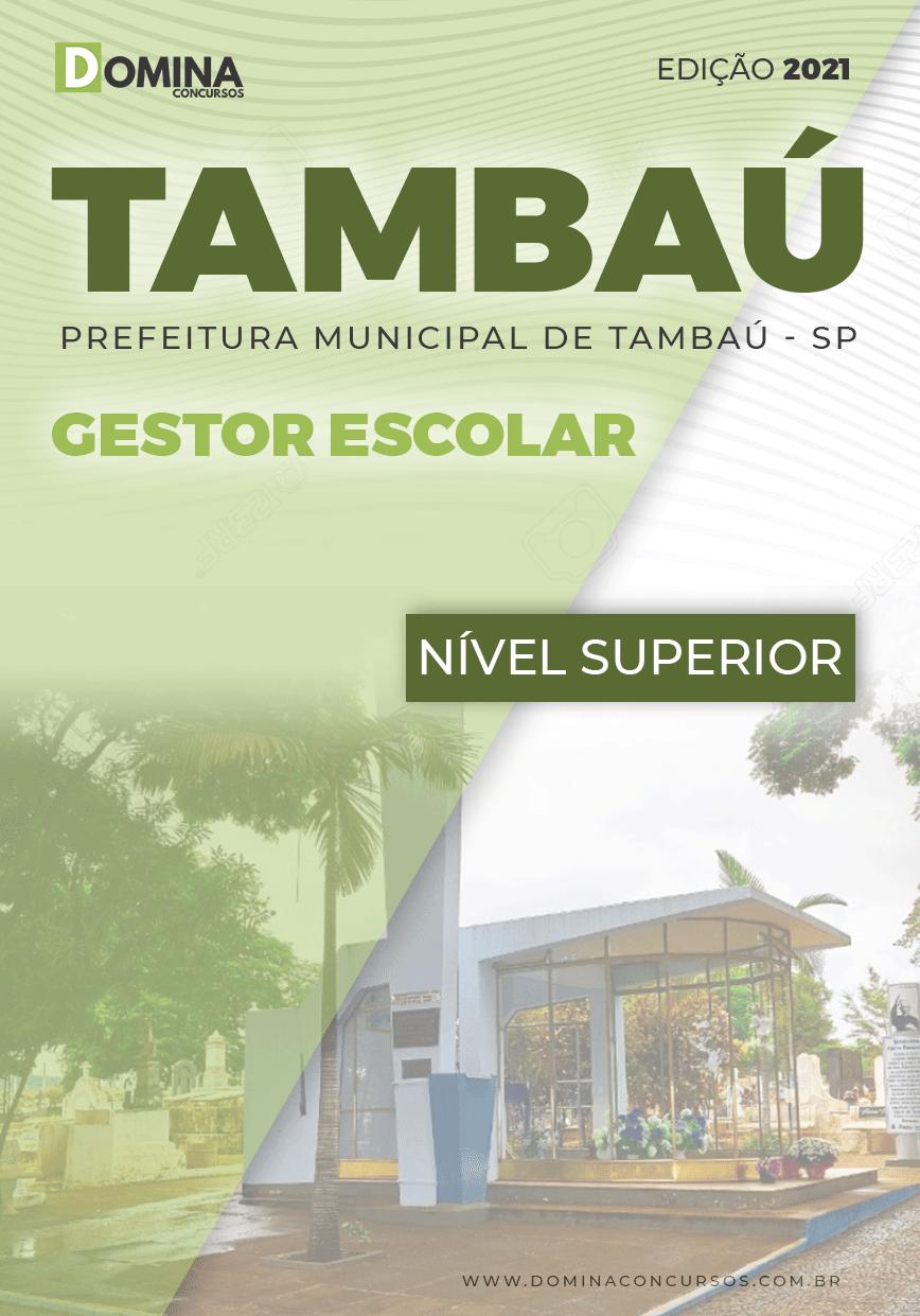 Apostila Concurso Pref Tambaú SP 2021 Gestor Escolar