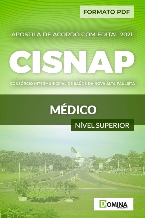 Apostila Processo Seletivo CISNAP SP 2021 Médico