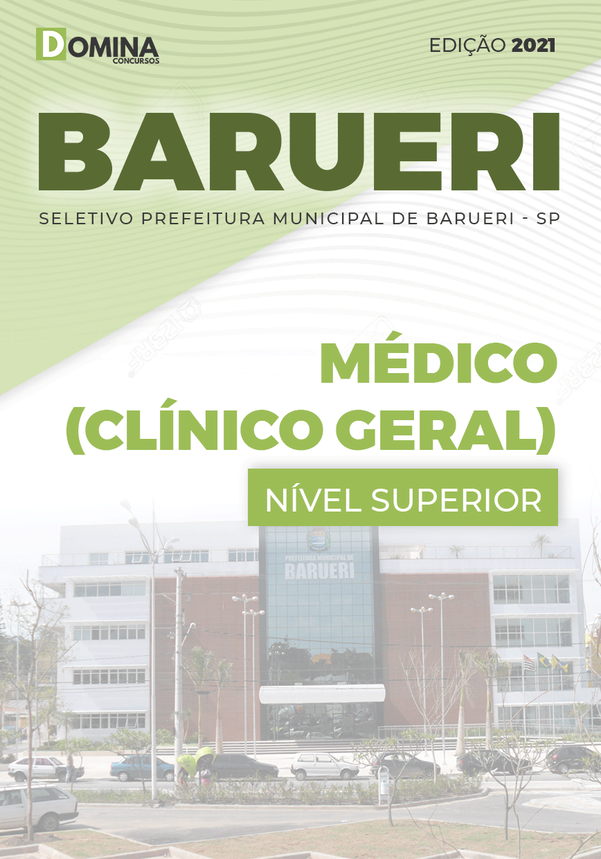 Apostila Concurso Pref Barueri SP 2021 Médico Clínico Geral