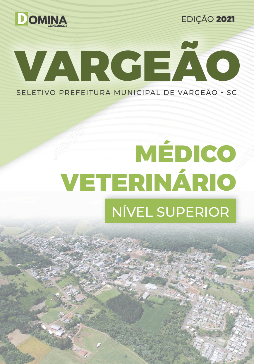 Apostila Seletivo Pref Vargeão SC 2021 Médico Veterinário
