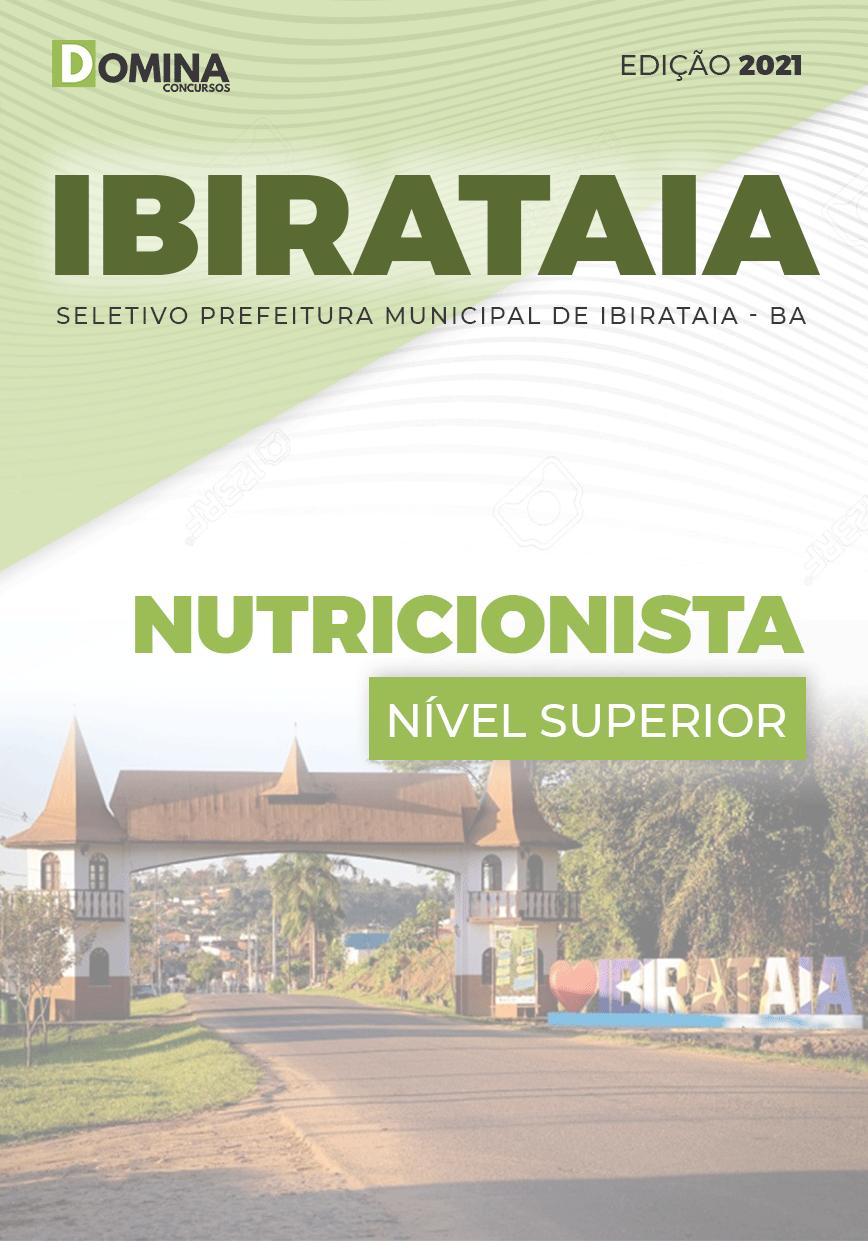 Apostila Processo Seletivo Pref Ibirataia BA 2021 Nutricionista