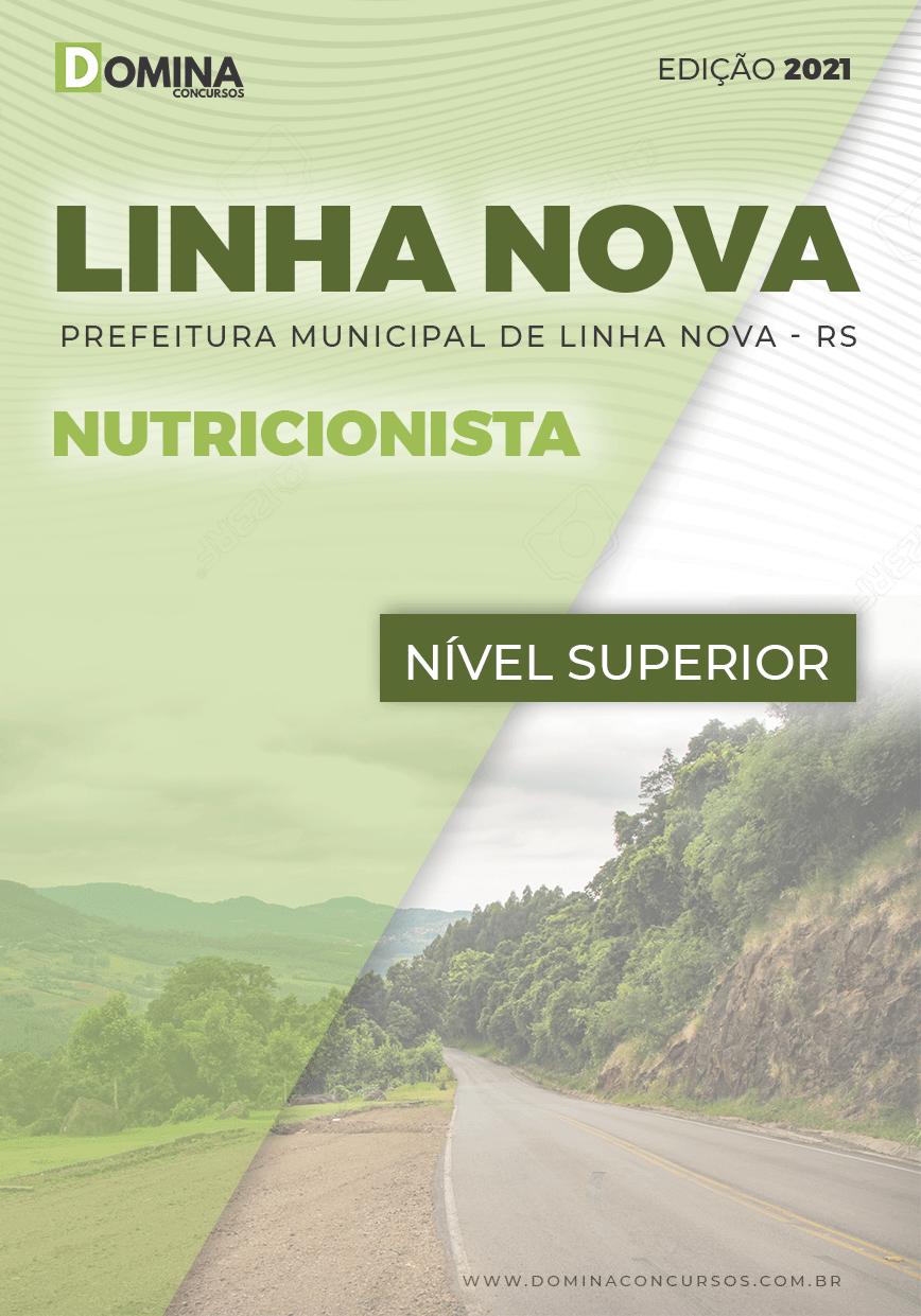 Apostila Concurso Linha Nova RS 2021 Nutricionista
