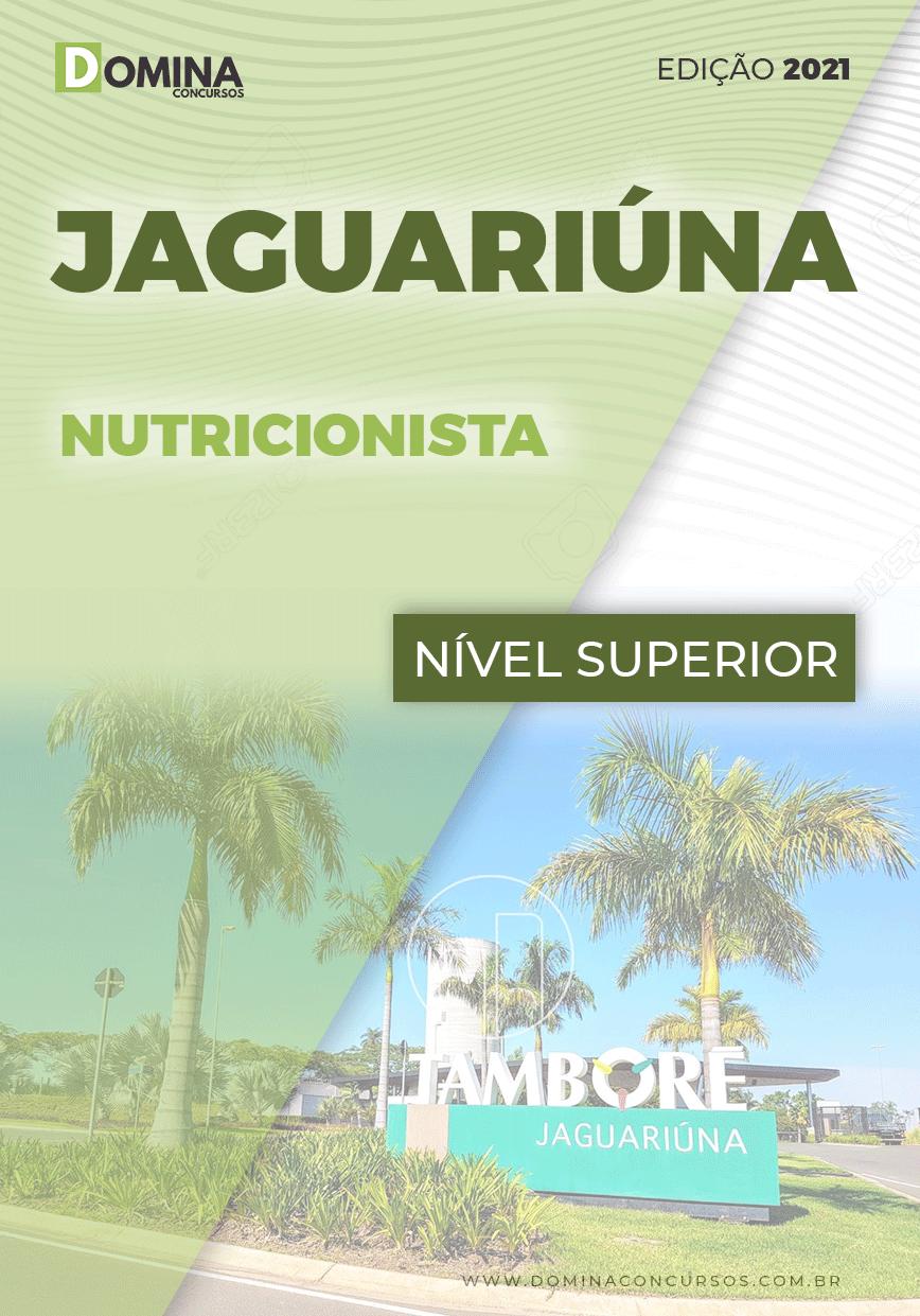 Apostila Concurso Público Pref Jaguariúna SP 2021 Nutricionista