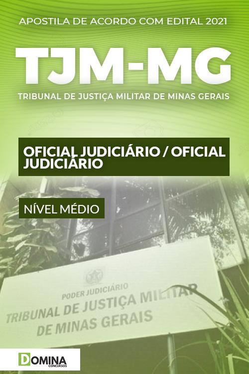 Apostila Concurso Público TJM MG 2021 Oficial Judiciário
