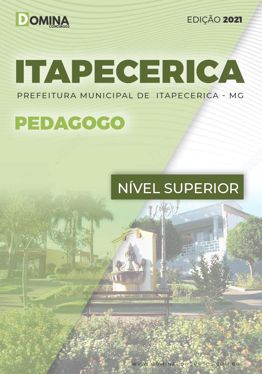 Apostila Concurso Pref Itapecerica MG 2021 Pedagogo
