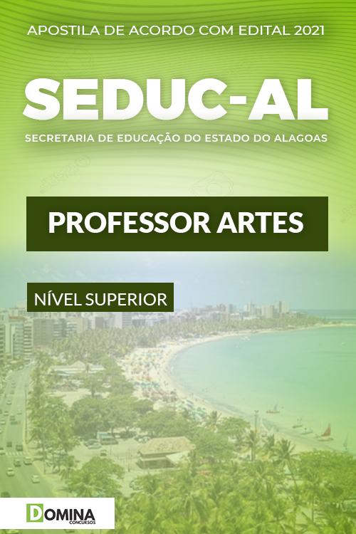 Apostila Concurso Público SEDUC AL 2021 Professor Artes