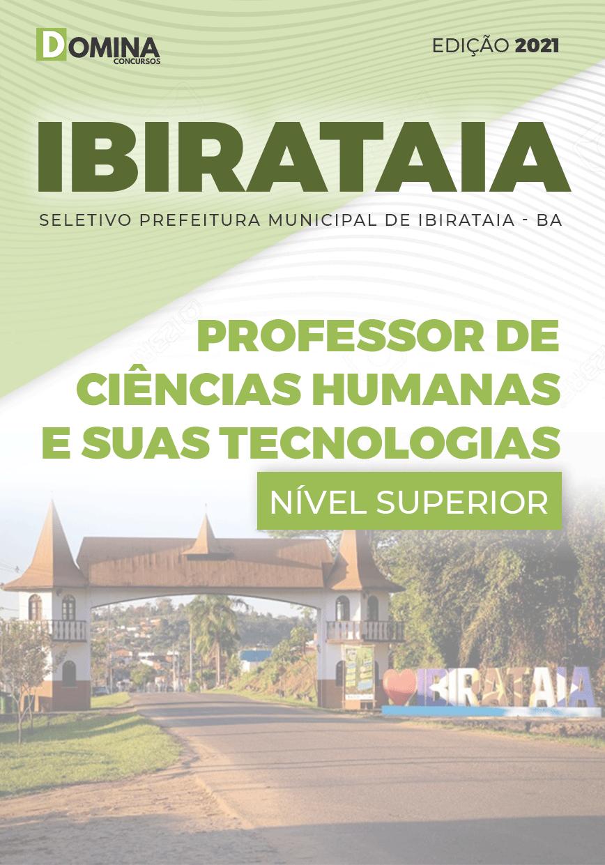 Apostila Pref Ibirataia BA 2021 Prof Ciências Humanas Tecnologias