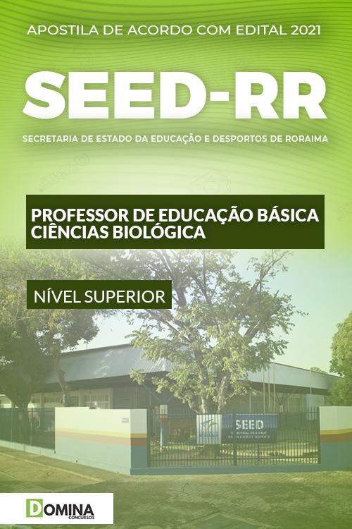 Apostila SEED RR 2021 Professor Educação Ciências Biológica
