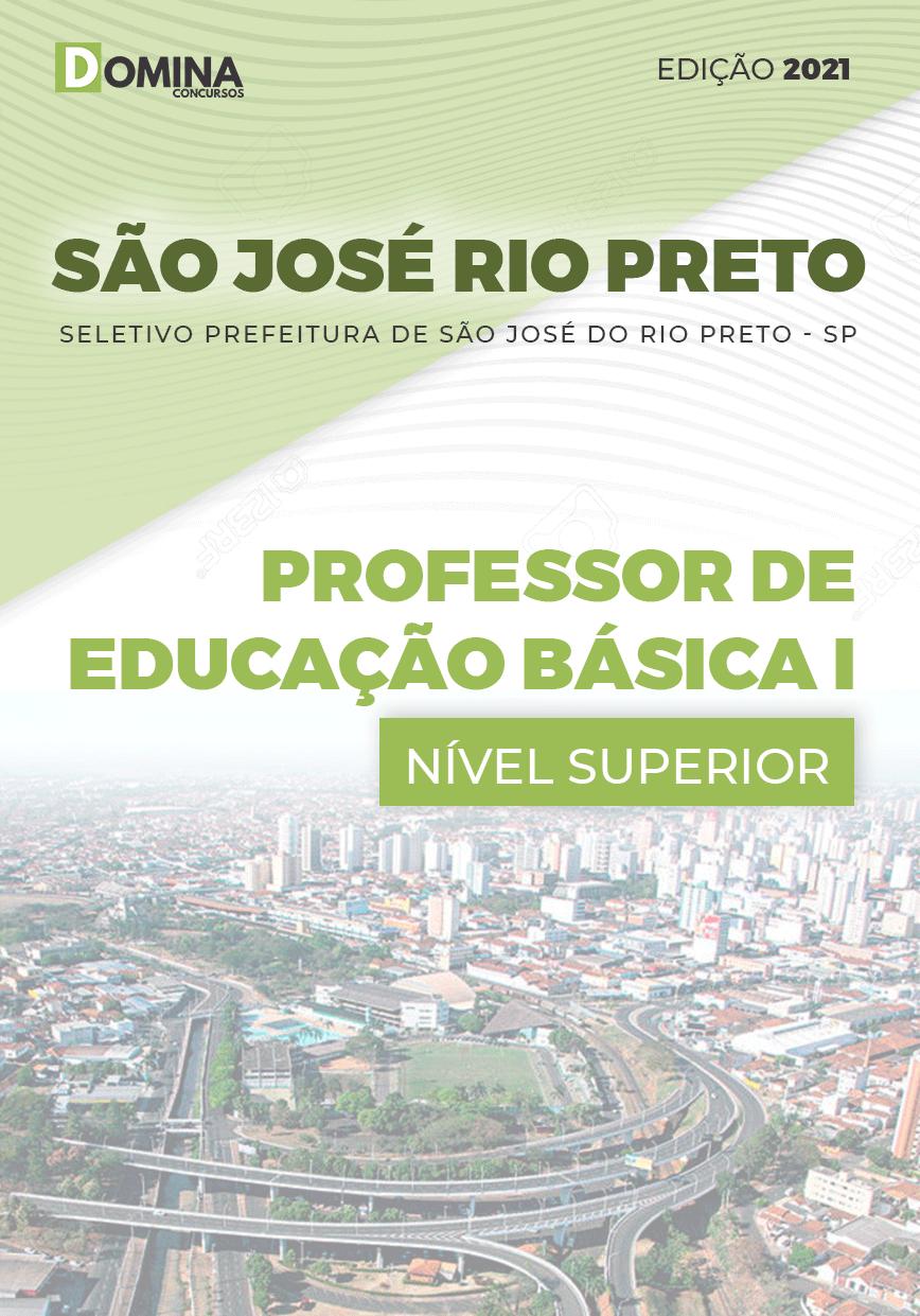 Apostila Pref São José Rio Preto SP 2021 Prof Educação Básica I