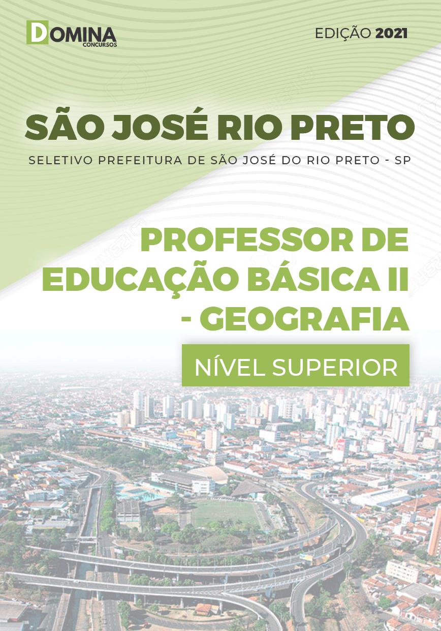 Apostila Pref São José Rio Preto SP 2021 Prof Básica II Geografia