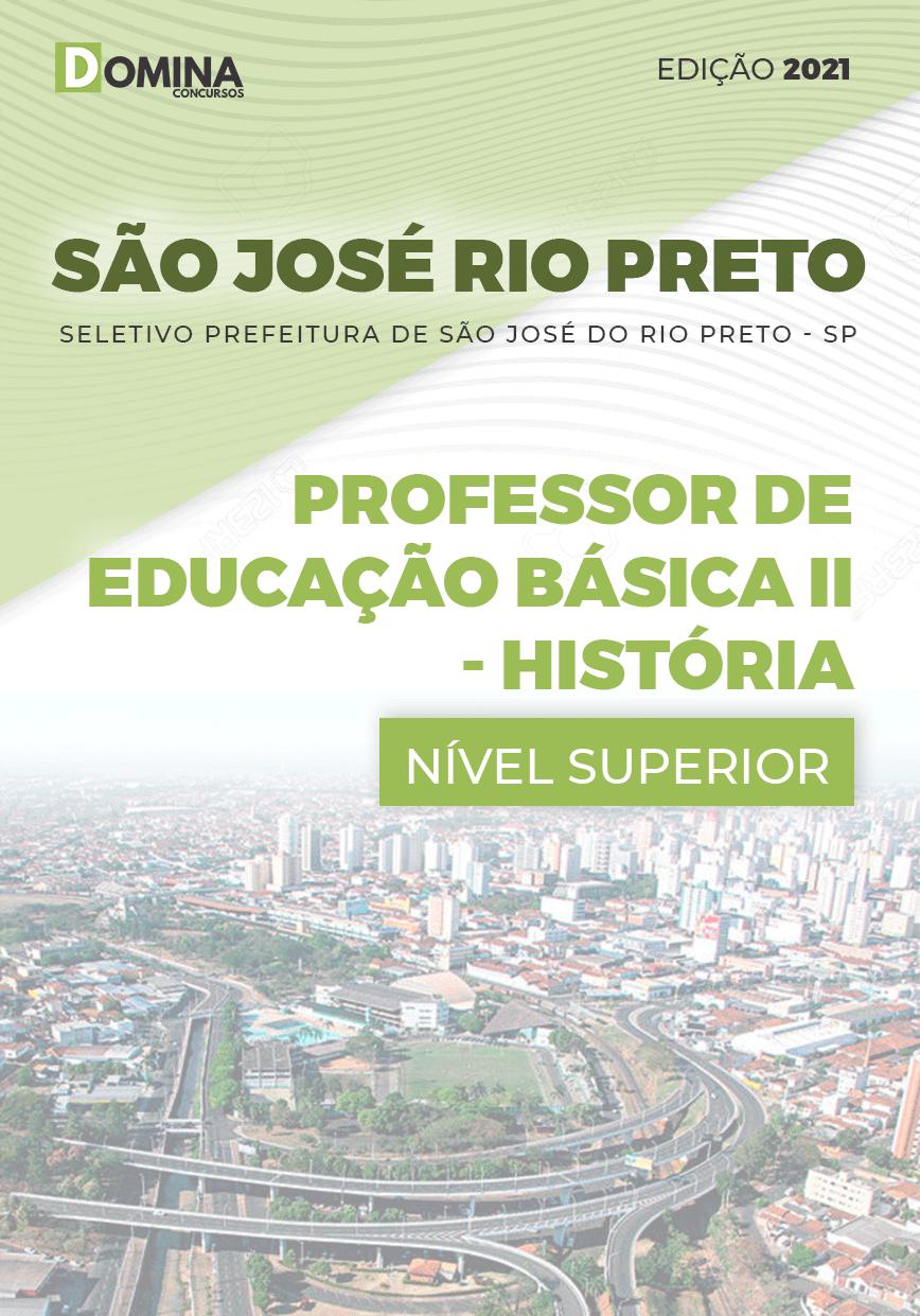 Apostila Pref São José Rio Preto SP 2021 Prof Básica II História