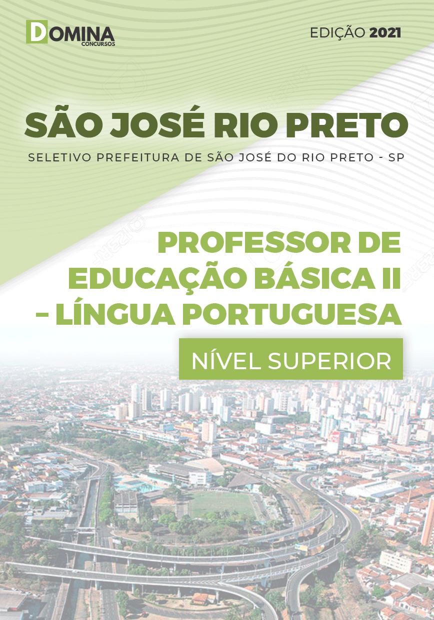 Apostila Pref São José Rio Preto SP 2021 Prof II Língua Portuguesa