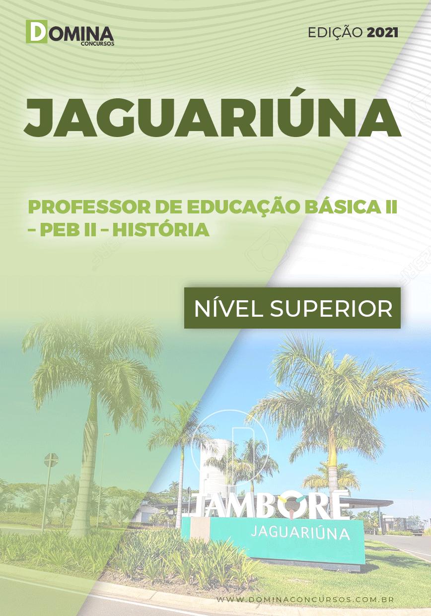 Apostila Pref Jaguariúna SP 2021 Professor Educação II História