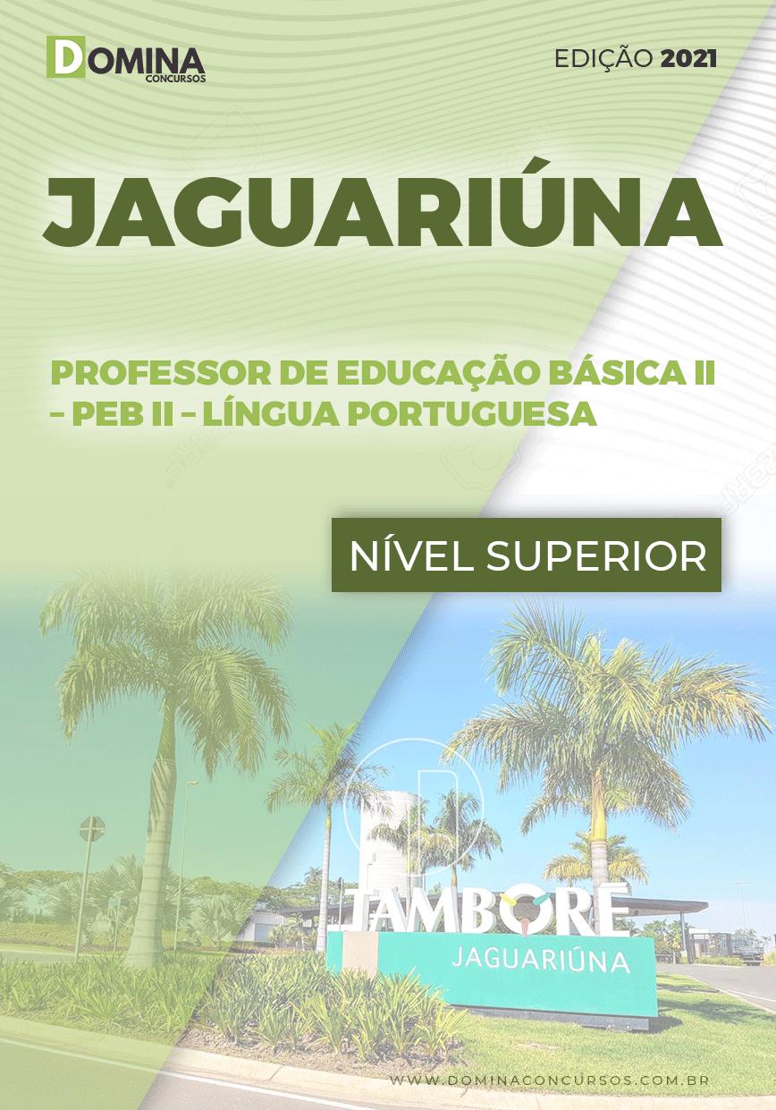 Apostila Pref Jaguariúna SP 2021 Prof Educação II Língua Portuguesa