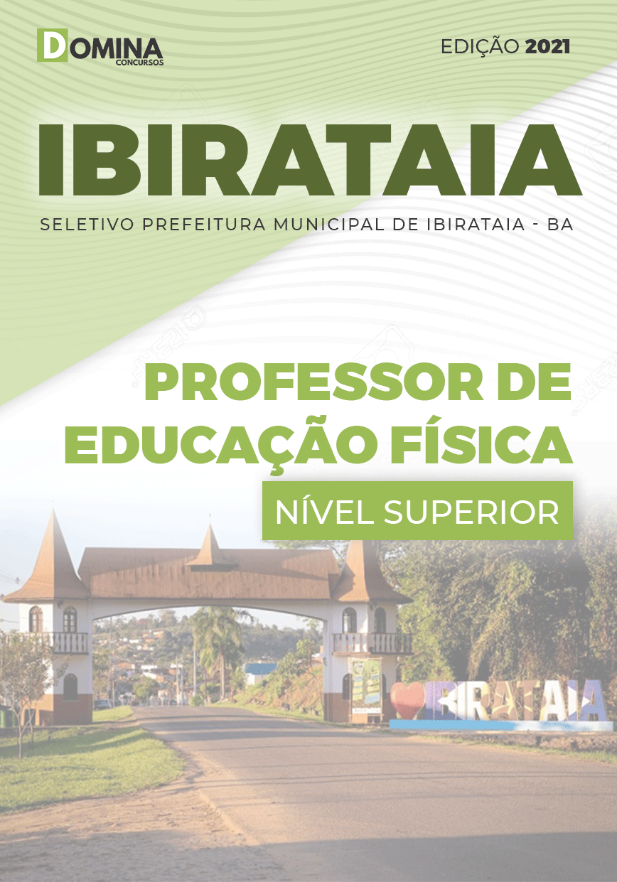 Apostila Pref Ibirataia BA 2021 Professor de Educação Física