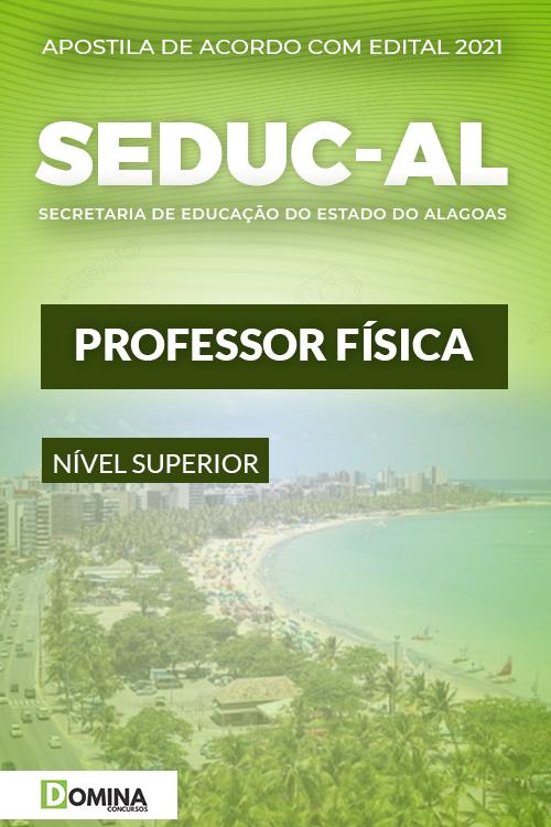 Apostila Concurso Público SEDUC AL 2021 Professor Física