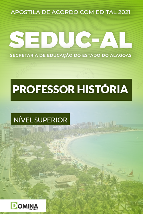 Apostila Concurso Público SEDUC AL 2021 Professor História