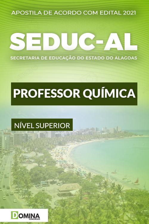 Apostila Concurso Público SEDUC AL 2021 Professor Química
