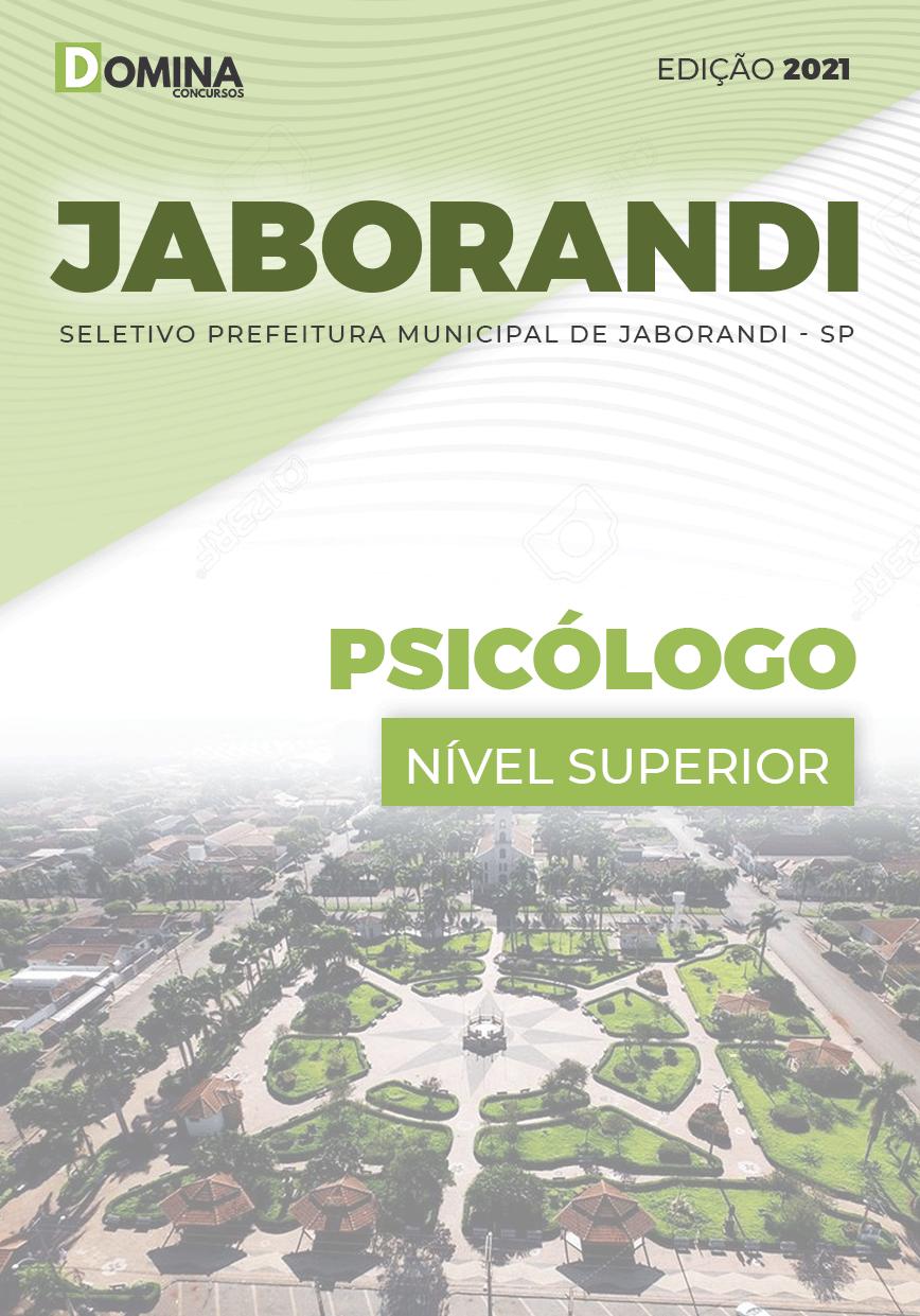 Apostila Processo Seletivo Pref Jaborandi SP 2021 Psicólogo