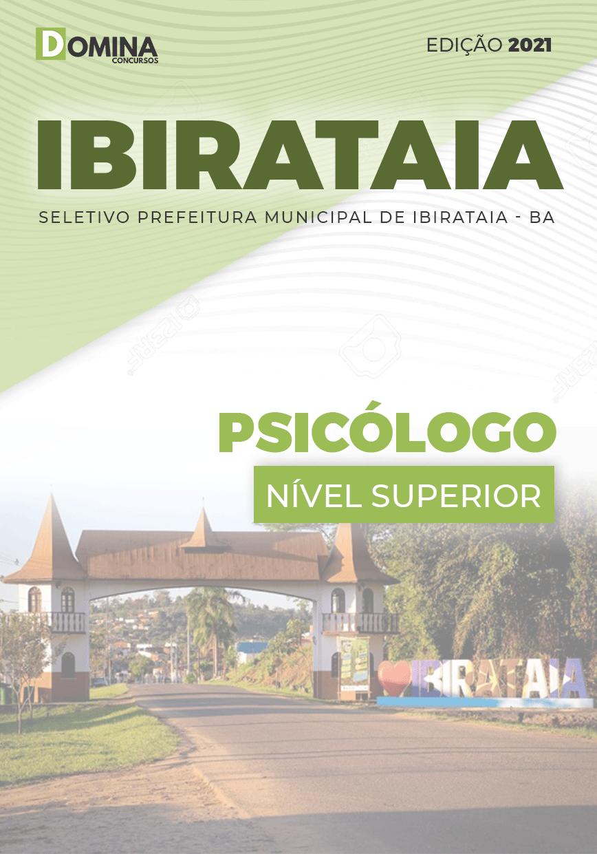 Apostila Processo Seletivo Pref Ibirataia BA 2021 Psicólogo