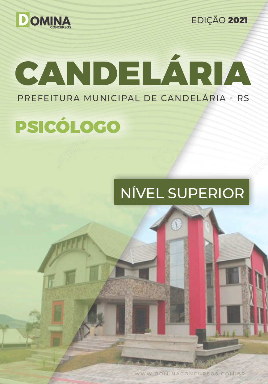 Apostila Concurso Público Pref Candelária RS 2021 Psicólogo