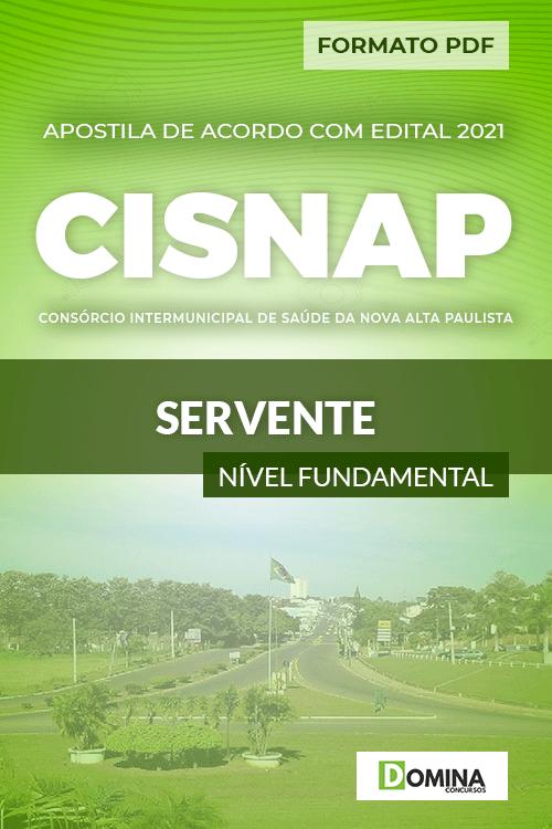 Apostila Processo Seletivo CISNAP SP 2021 Servente