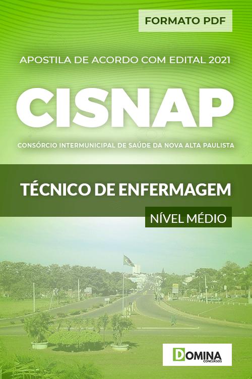 Apostila Seletivo CISNAP SP 2021 Técnico de Enfermagem