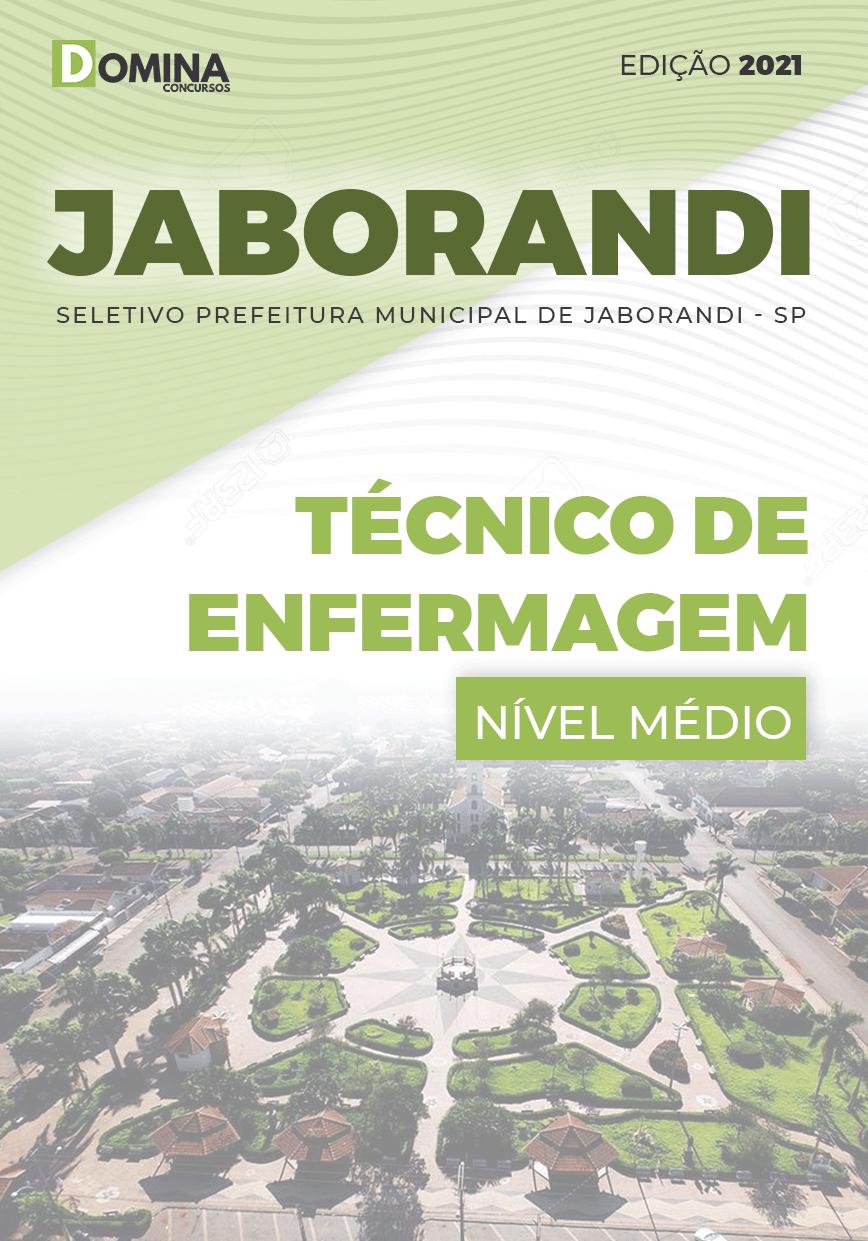 Apostila Pref Jaborandi SP 2021 Técnico de Enfermagem